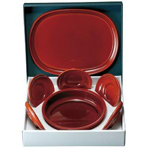 茶の間(お盆、菓子鉢、茶托)セット 両面春慶塗り お菓子入れ おしゃれ かわいい モダン お坊さん
