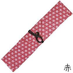 【箸入れ箸袋】携帯用お箸袋グリーン・エンジ・黒・赤