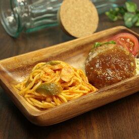 木製 食器 アカシア レクタングルボウル XLサイズ お皿 プレート 木のお皿