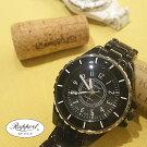 ラポールウォッチRapportレディースファッションウォッチ腕時計メタルベルトバックル