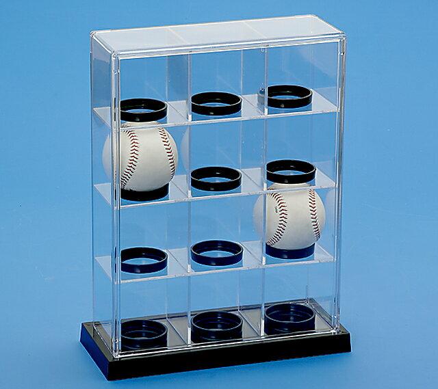展示ケース ベースボール12P 【送料無料】クリアケース