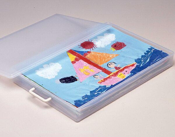 【送料無料】【ポイント10倍】4切画用紙ケース 収納ケース