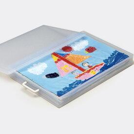 【送料無料】【ポイント10倍】4切画用紙ケース 収納ケース 作品収納