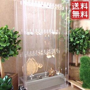 アクセサリーケース ジュエリーボックス アクセサリーボックス 大容量 ジュエリーケース 指輪 ネックレス ピアス イヤリング アクセサリー ジュエリー 収納 保管 クリア 透明 ガラス より安全な アクリル製
