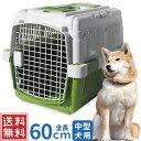 クレート 中型犬 ペットキャリー ハードキャリー 60×45×48cm キャリーケース クレートハウス 犬 ペットゲージ ペッ…