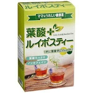 葉酸+ルイボスティー 2g×24包入り 葉酸たっぷりママにうれしい ノンカフェイン