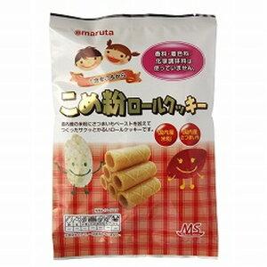 【創健社】太田油脂 MSこめ粉ロールクッキー (10個入り)×6袋セット