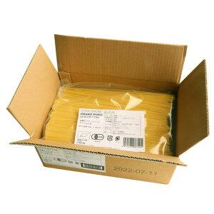 業務用 ジロロモーニ デュラム小麦 有機スパゲッティーニ (5kg) ※「キャンセル不可、3箱以上で重量加算あり」 【創健社】