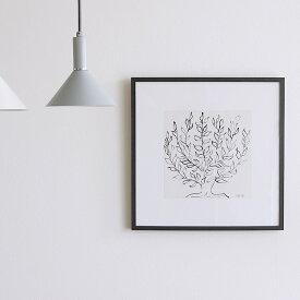 【クーポン で500円OFF 13日20時〜17日12時】 アートポスター Henri Matisse「低木」 インテリア 絵 絵画 アート アートポスター アートパネル アートフレーム リトルアート 玄関 リビング ダイニング 額入り 壁掛け おしゃれ ウォール モノクロ Henri Matisse