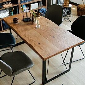 幅150cm ダイニングテーブル Graxia(グラシア) ダイニングテーブル 食卓ダイニングテーブル 無垢材 無垢 1枚板 ダイニング テーブル 木製 ウッド オーク アメリカンオーク シンプル 4人用 北欧 ヴィンテージ 西海岸