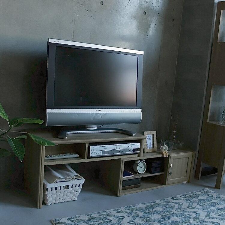 伸縮式TVボード Bris(ブリス) bris ブリス 白井産業 白井 伸縮式 伸縮 回転 回転式 ナチュラルtvボード テレビ台 テレビボード ローボード TVボード AVボード 木製 32インチ 32型 ヴィンテージ ビンテージ 新生活