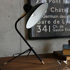 デスクランプ Arles(アルル) デスクライト スタンドライト テーブルライト 学習机 間接照明 照明 LED対応 テーブルスタンド モダン レトロ おしゃれ 可愛い ホワイト ブラック シンプル ポップ モノトーン