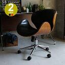 ノースチェア KNOX ブラック レッド ノースチェア KNOX ワークチェア オフィスチェア イス 椅子 ミッドセンチュリ— …