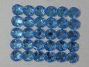 No.3802手芸用ビジュー パーツ(アクリルビーズ ラインストーン)水色(ブルー)0.5×0.5cm_30個入り