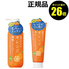 【ポイント最大26倍】植物生まれのオレンジ地肌N シャンプー&トリートメントセット 【正規品】【ギフト対応可】