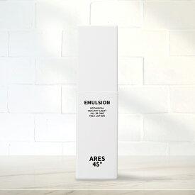 ARES45 乳液 メンズ オールインワンゲル スキンケア 保湿 化粧水 美容液 乳液 保湿 クリーム 日本製 乾燥肌 男性用 老け顔対策 エイジングケア アレス45 100ml