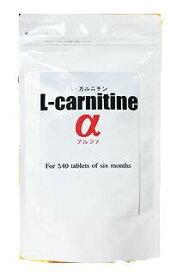 ポスト投函で送料無料 L-carnitineα L-カルニチンα 容量約6か月分 カテキン L-カルニチン コエンザイイムQ10配合 ダイエットサプリ