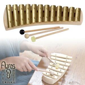 アウリス グロッケン ダイヤトニック12音 AUKDH012[楽器 おもちゃ こども 北欧 スウェーデン 木製 グロッケン プレゼント・ギフトにおすすめ 男の子 女の子 子供]