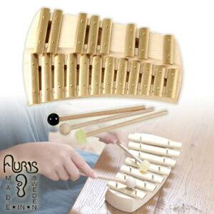 アウリス グロッケン クロマティック20音 AUKKH[楽器 おもちゃ こども 北欧 スウェーデン 木製 グロッケン プレゼント・ギフトにおすすめ 男の子 女の子]