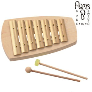 アウリス シェルズグロッケン ペンタトニック7音 AUKAP007[楽器 おもちゃ こども 北欧 スウェーデン 木製 グロッケン プレゼント・ギフトおもちゃ 男の子 女の子 子ども]