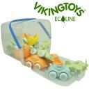 VIKINGTOYS バイキングトイズ エコライン チュビーズ バケツセット15個入 156521[車 車のおもちゃ ベビー 車のオモチ…