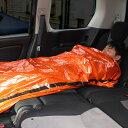 緊急用スリーピングバッグ2枚組[コンパクト 寝袋 封筒型 ねぶくろ 避難グッズ 災害 グッズ 防災グッズ 冬 アウトドア …