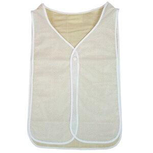 クールでドライな清涼汗取りパッド サットル 大人用[メンズにもレディースにも使える汗取りパットのインナー 背中の汗の汗取りにおすすめ 着脱簡単なタンクトップ コットンの汗取りイン