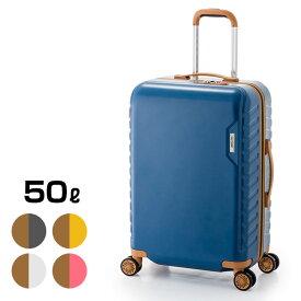 マックススマート MS-202-25[かわいい スーツケース 女性に人気の旅行用のスーツケース(ファスナー) 鍵がスーツケース本体に埋め込まれている 女性用のカラーも揃っている海外旅行用のかばん(キャリーケース/キャリー) MAX SMART]