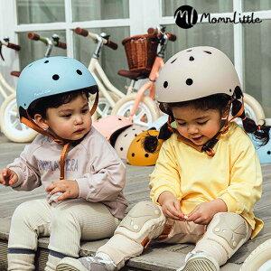 MomnLittle キッズヘルメット[ヘルメット 子供用 子供 子ども キッズ 女の子 幼児 おしゃれ かわいい 人気 自転車 キックボード 遊び おすすめ こども 3歳 4歳 5歳 6歳 3歳児 3才 4才 5才 6才] 即納