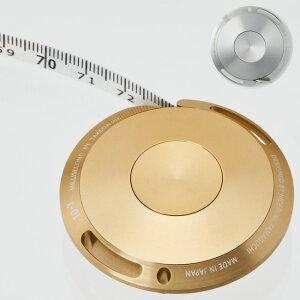ミリセカンド MiLLiSECOND ファイバー メタルメジャー[シンプルなデザインのメジャー キーホルダーとしてもおしゃれな巻尺 スタイリッシュなおすすめの巻き尺]