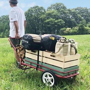 ニグルマ NGM-7240[ハングアウト 荷車 アウトドアキャリー カート キャリー キャリーワゴン 折りたたみ 折り畳み 台車 バギー キャンプ アウトドア アウトドアキャリーカート アウトドアキャ