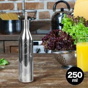 オリパック OLIPAC 18-10ステンレス オリーブオイルボトル 250ml[オリーブオイル入れ エキストラバージンオリーブオイル ボトル オリーブオイル 容器 保存容器 イタリア ブランド オイルボトル