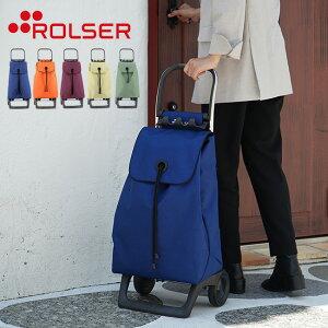 ROLSER ロルサー BABY JOY カラー[ショッピングカート 2輪 おしゃれ かわいい ポップ 無地 デザイン シンプル カート 大容量 36L 買い物 おでかけ 荷物 スペイン バッグ フレーム オリジナルフレー