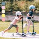 スクートアンドライド ハイウェイキック3 LED[子供 光る LEDタイヤ 3輪 キッズ 子ども キックスケーター 子供用 遊具 …