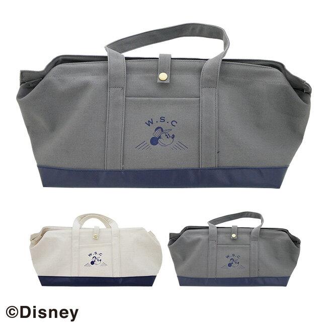 クーポン配布中!Disney ディズニー W.S.C キャンバスツールバッグ[ご家庭のDIY道具を入れてそのまま持ち歩ける お買い物バッグにもできる ミッキーマウスのデザインが可愛いバッグ ショッピング かばん 工具袋 工具収納かばん]【ポイント1倍】