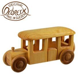 デブレスカ 北欧のバス DC17[0歳 0才 DEBRESKA 木のおもちゃ のりもの 乗物 乗り物 車 男の子 女の子 手作り 玩具 木製]