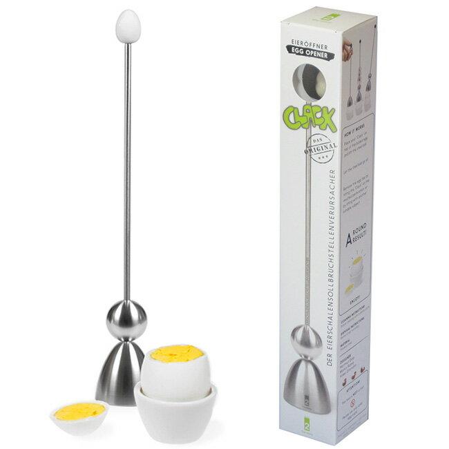 テイク2 TAKE2 クラック エッグシェルブレーカー[ゆでたまごや生たまごの殻を割るキッチン雑貨 ゆでたまごの半熟を食べるのに便利な調理器具 生卵をきれいに割る調理用具・キッチン用品]【ポイント1倍】