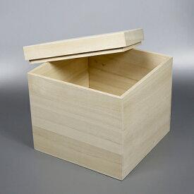 桐箱 正方形サm W160D160H160 日本製