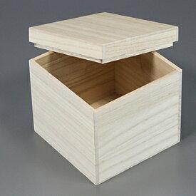 桐箱 正方形サm W130D130H130 日本製