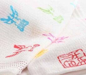 ねぶた手拭いタオル「面・面・面」・・・。今治タオルタオル ねぷた祭り フェイスタオル 青森県 お土産 ねぷた