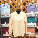 長袖 ポロシャツ 婦人 レディース トップス 作業服 会社 ユニホーム ボタン 襟付き 1010