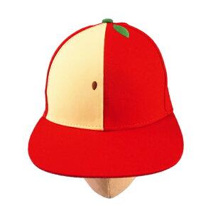 子供/キッズ/女の子☆フルーツキャップ キャップ 帽子 フルーツ刺しゅう キッズフリーサイズ