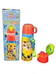 喝玩具總動員/迪士尼·pikusa★2WAY不銹鋼瓶/直接型&杯子類型/蓋子替換2WAY/輕量小型的/保冷&保溫/470ml&430ml