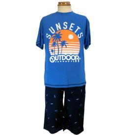 OUTDOOR/アウトドア★ジュニア(男の子)Tタイプパジャマ/半袖+半ズボン