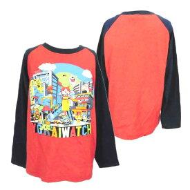 【妖怪ウォッチ】★長袖Tシャツ ラグラン袖Tシャツ 子供長袖Tシャツ NEXTPETS!◇バンダイ◇