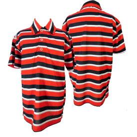 ジュニア/男の子/子供★NIKEGOLF(ナイキ)半袖ポロシャツ/ボーダーポロ/ドライフィット/ステイクール