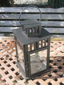 ランタン蝋燭キャンドルイケアブロックキャンドル黒BORRBY商品番号F5