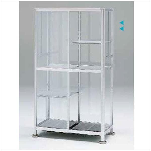 ピカコーポレーション 小型温室 FHB-1508S 『アルミ製/組立品』 シルバー