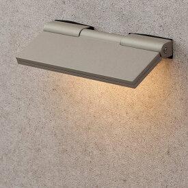 タカショー 表札灯(ローボルト) エクスレッズ フラットウォールライト1型 HBA-D04G #61903000 *LED交換不可 『エクステリア照明 ライト』 グレイッシュゴールド
