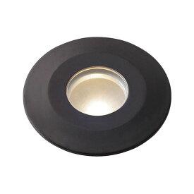タカショー ダウンライト(ローボルト) ミニフラットライト2型 HCD-D03B #71611100 *LED交換不可 『エクステリア照明 ライト』 ブラウン/LED色:電球色